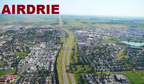 City Of Airdrie Map