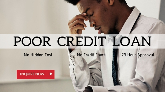 Poor credit car loan